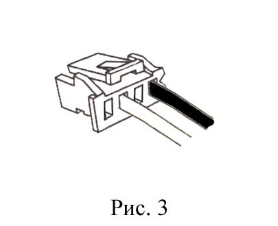 штекер 2 провода